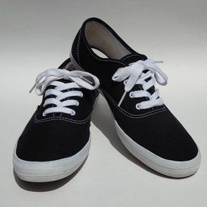 Keds Champion Canvas lace up Sneakers Black 9.5